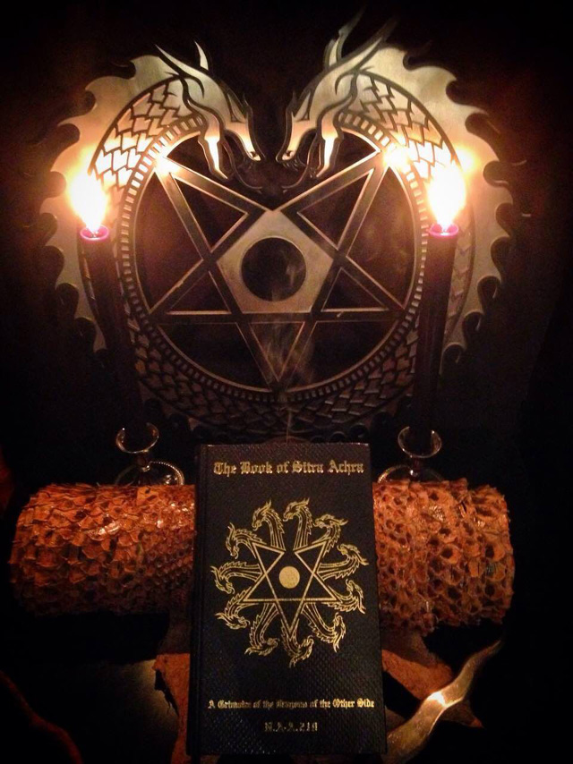 The Book of Sitra Achra - A Grimoire of the Dragons of the Other